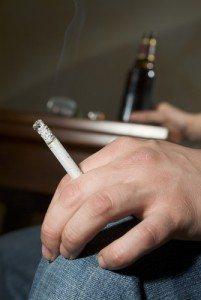 Oorzaken erectiestoornisen - roken en alcohol