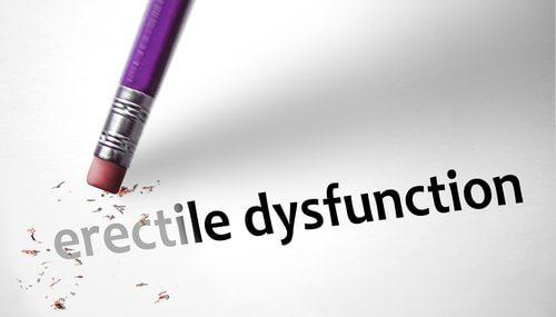 Erectiele dysfunctie weggummen